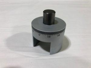 海外での部品調達によりコストダウンを実現した円盤プレート